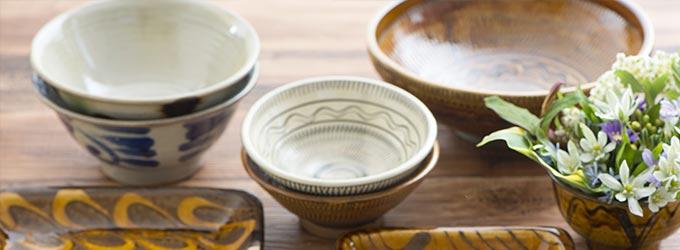陶器と美味しい家庭料理2