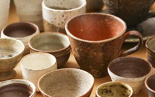 いろんな陶器